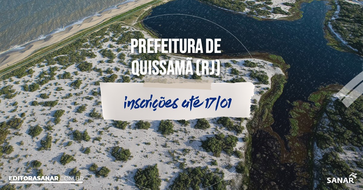 Concurso de Quissamã - RJ: salários na Saúde de até R$ 14 mil!