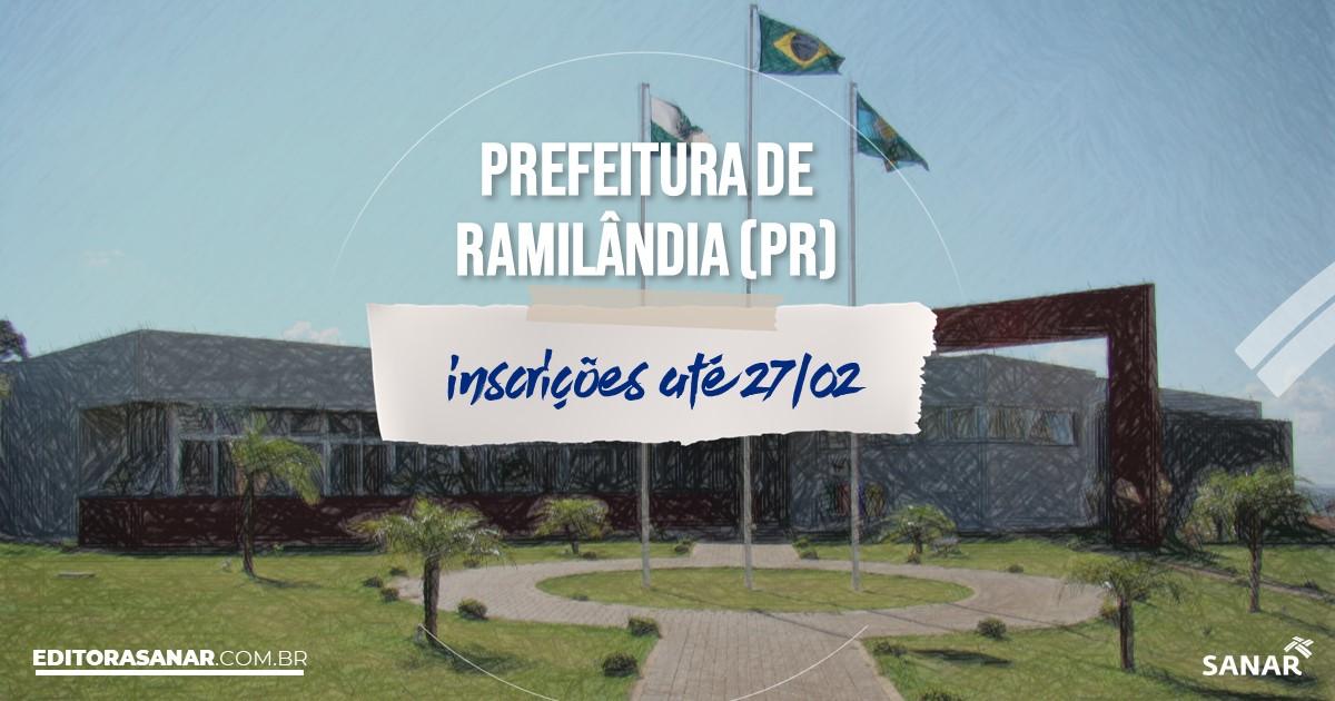 Concurso de Ramilândia - PR: salários de até R$9 mil na Saúde!