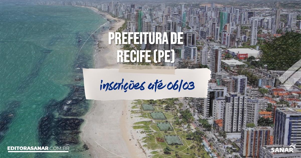 Concurso de Recife - PE: na Saúde, 72 vagas para psicólogos!