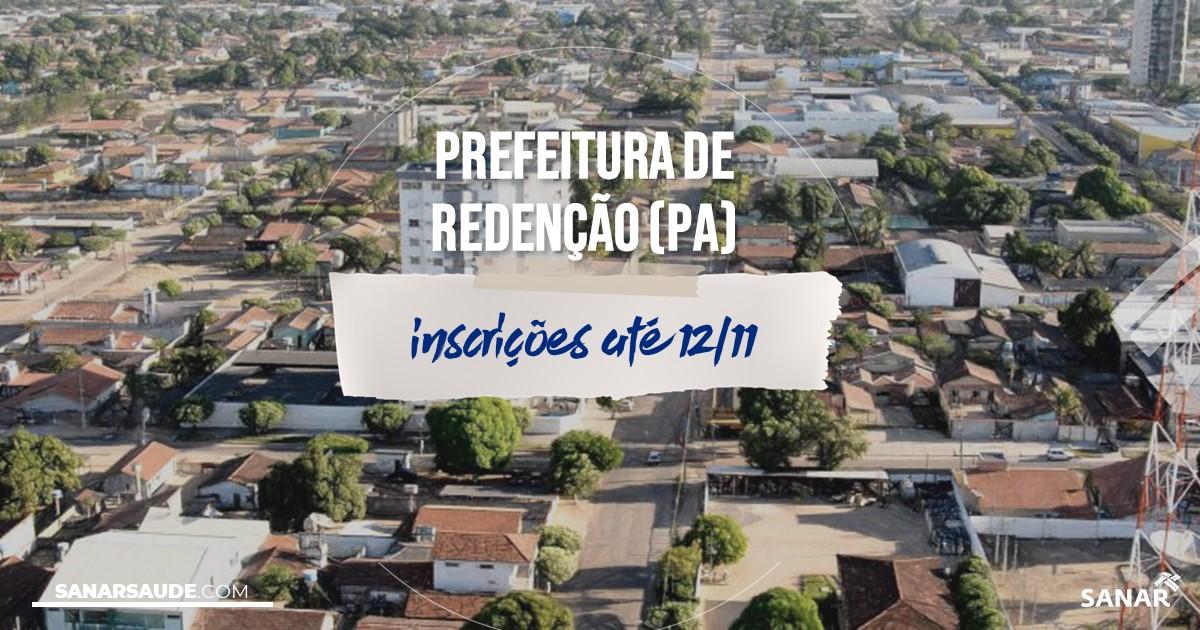 Concurso de Redenção - PA: vagas na Saúde!
