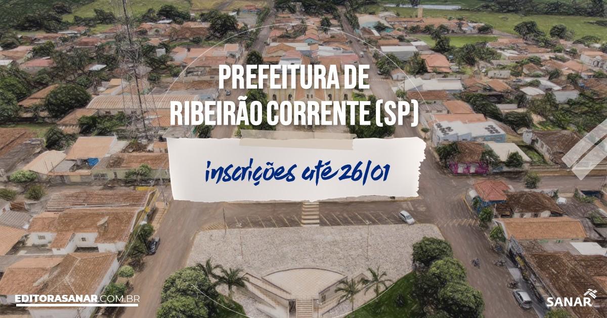 Concurso de Ribeirão Corrente - SP: vagas na Saúde!