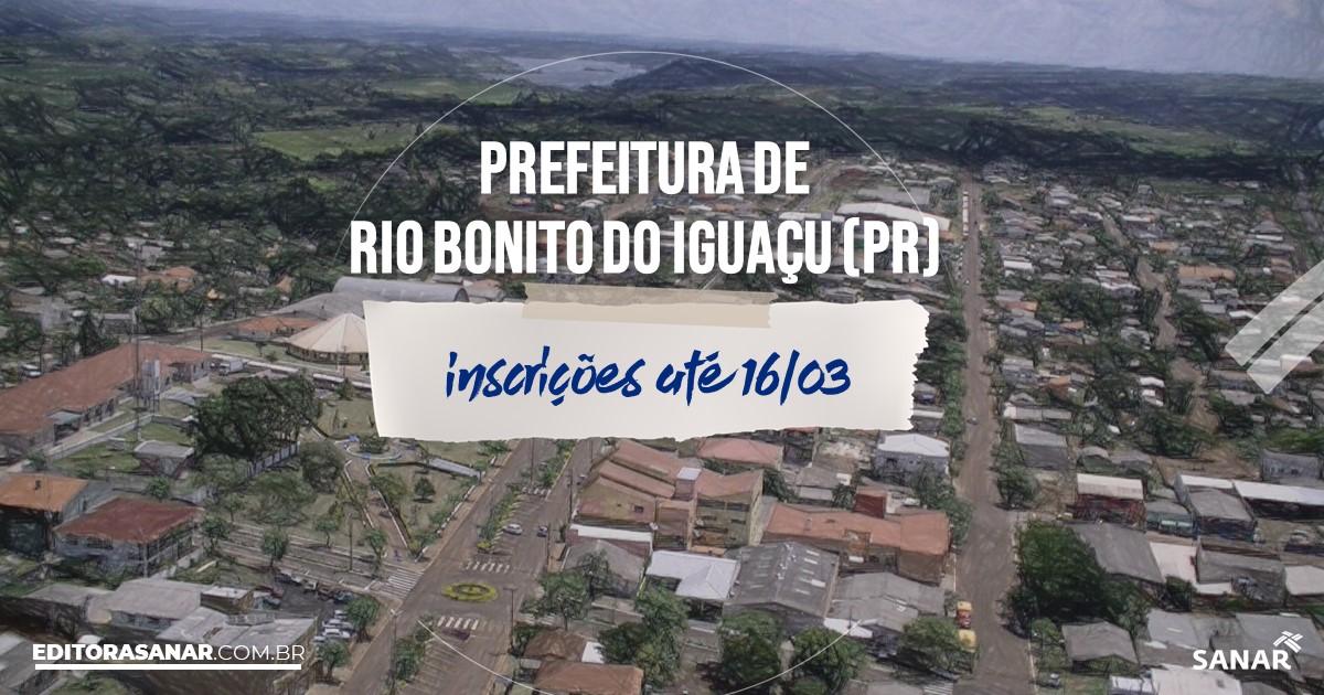 Concurso de Rio Bonito do Iguaçu - PR: salários até R$11,9 mil na Saúde!