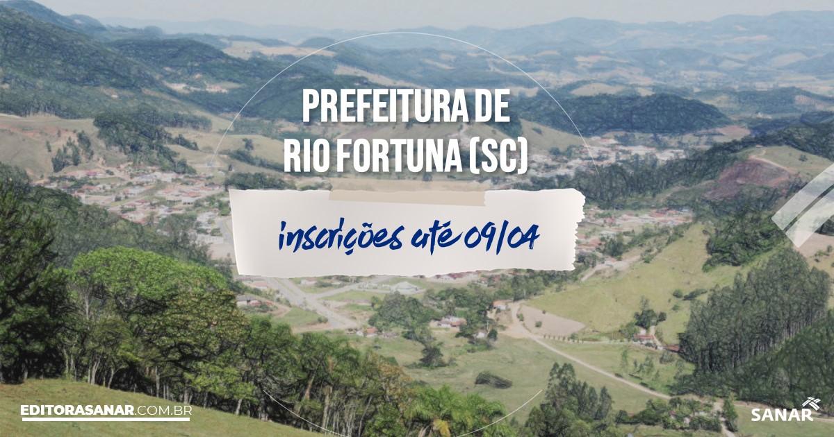Concurso de Rio Fortuna - SC: vagas na Saúde!