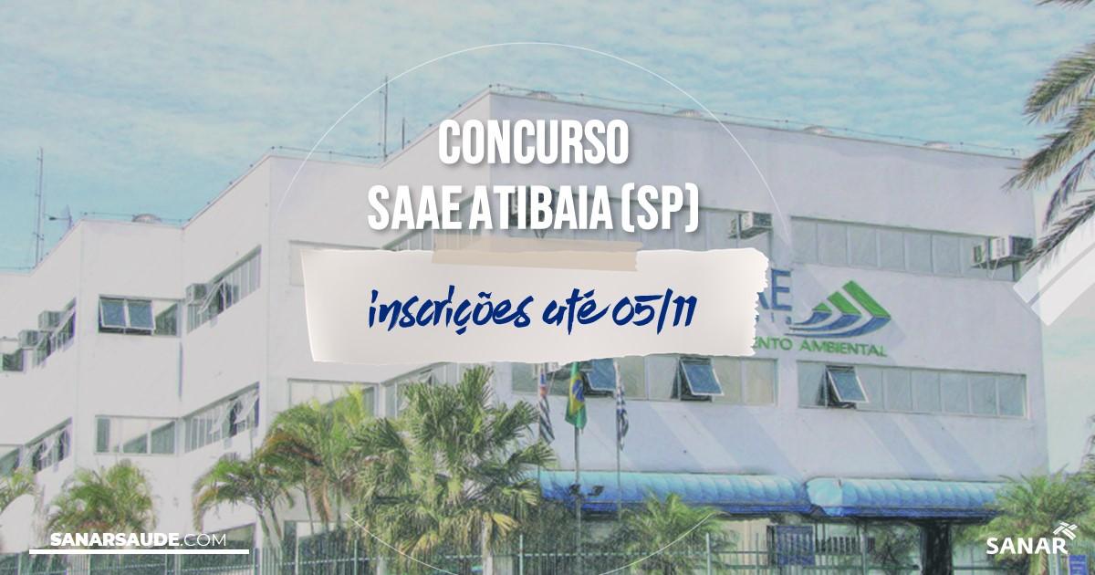 Concurso da SAAE Atibaia - SP: na Saúde, vaga para psicólogo!