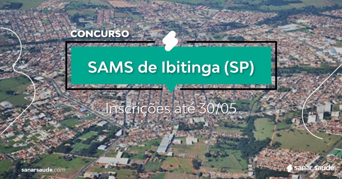 Concurso do SAMS de Ibitinga - SP: vagas imediatas na Saúde!