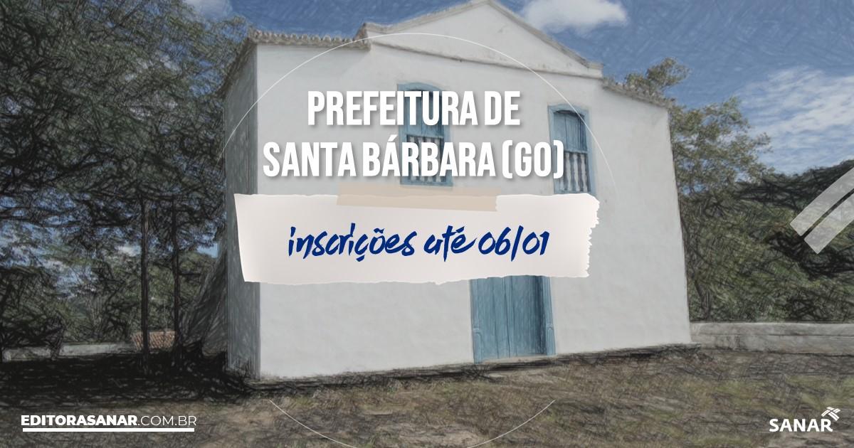 Concurso de Santa Bárbara de Goiás - GO: salários até R$11 mil na Saúde!