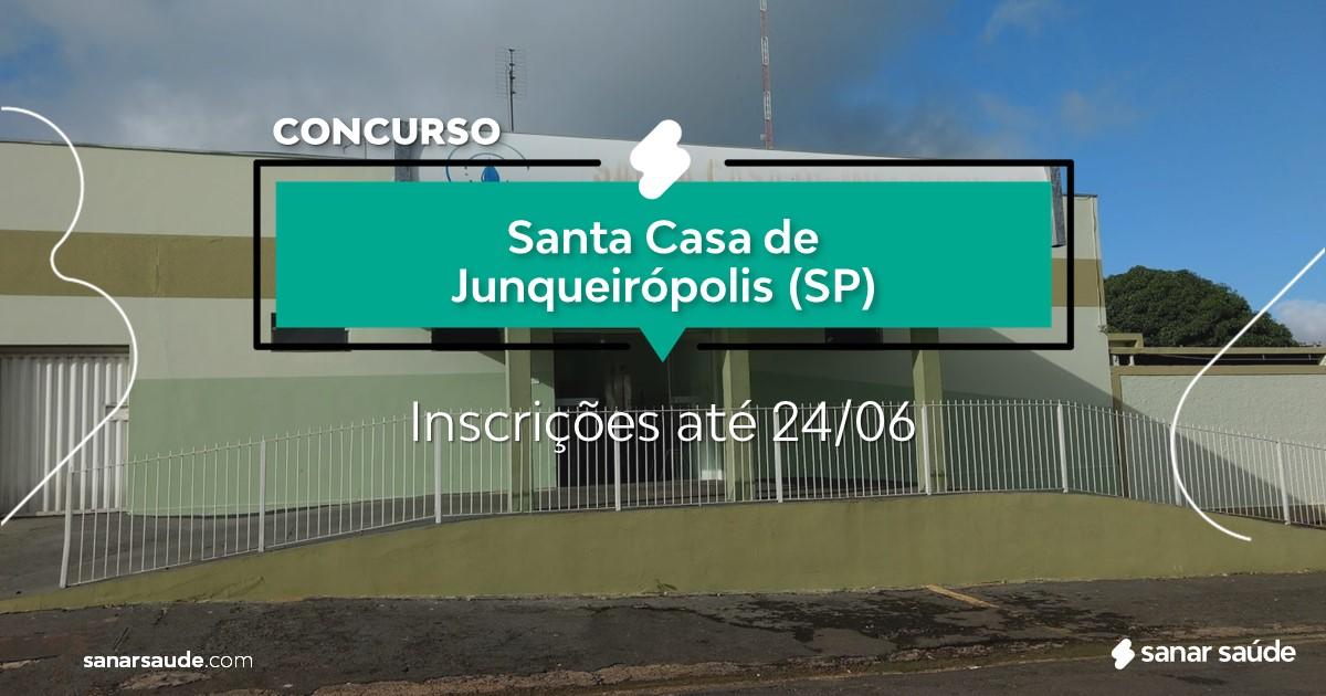 Concurso da Santa Casa Junqueirópolis - SP: vagas na Saúde!