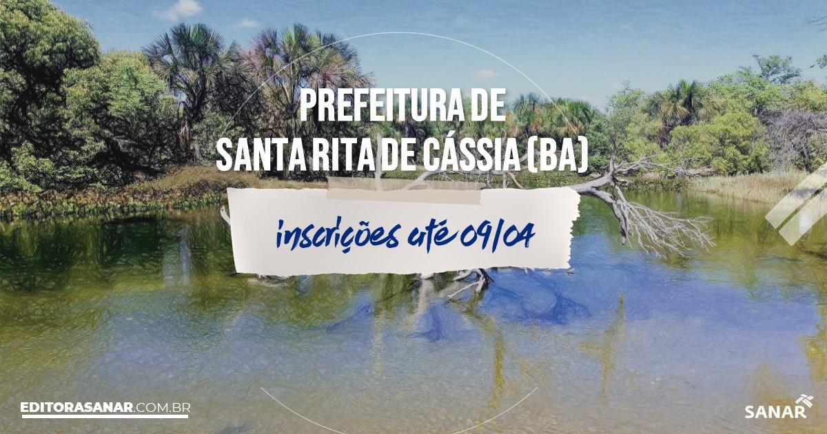 Concurso de Santa Rita de Cássia - BA: vagas na Saúde!