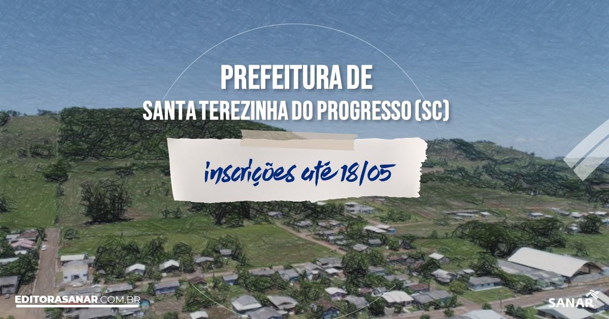 Concurso de Santa Terezinha do Progresso - SC: vagas na Saúde!