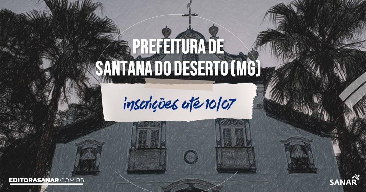 Concurso de Santana do Deserto - MG: na Saúde, vaga para enfermeiro!