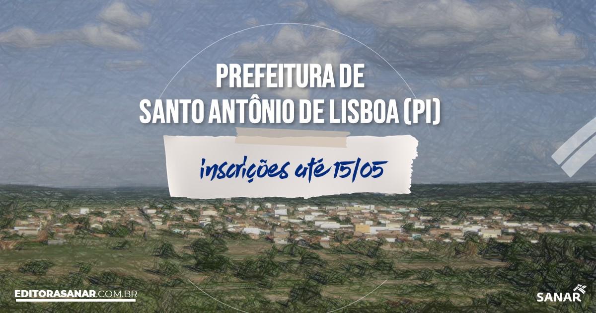 Concurso de Santo Antônio de Lisboa - PI: vagas na Saúde!