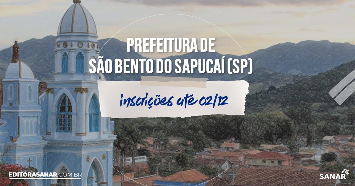 Concurso de São Bento do Sapucaí - SP: vagas na Saúde!