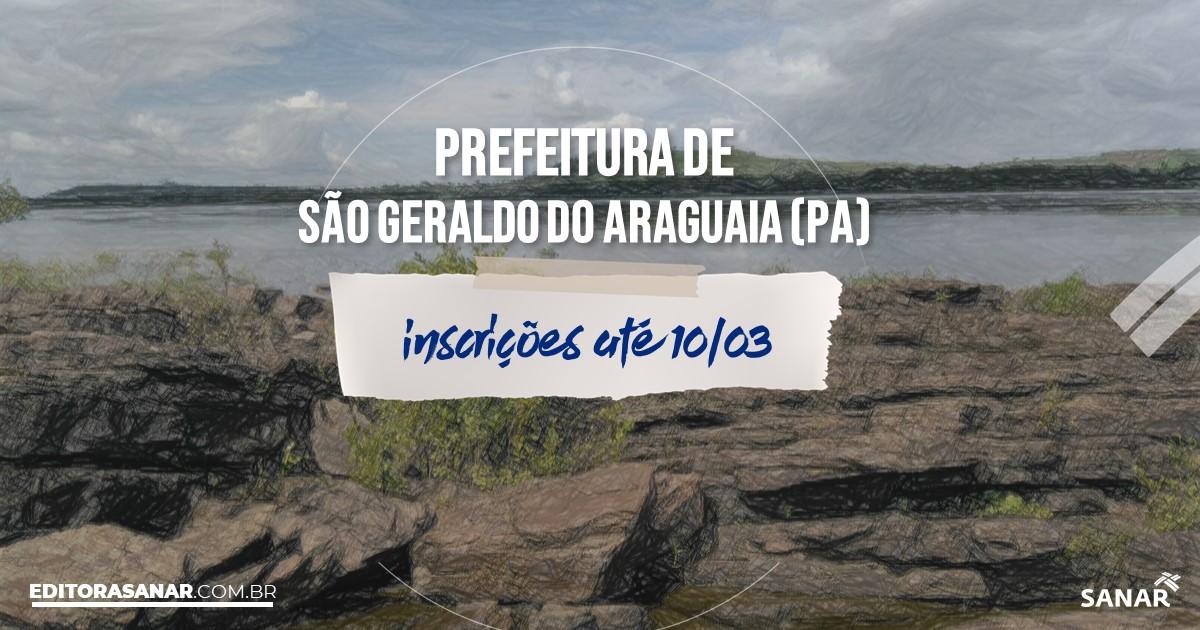 Concurso de São Geraldo do Araguaia - PA: vagas na Saúde!
