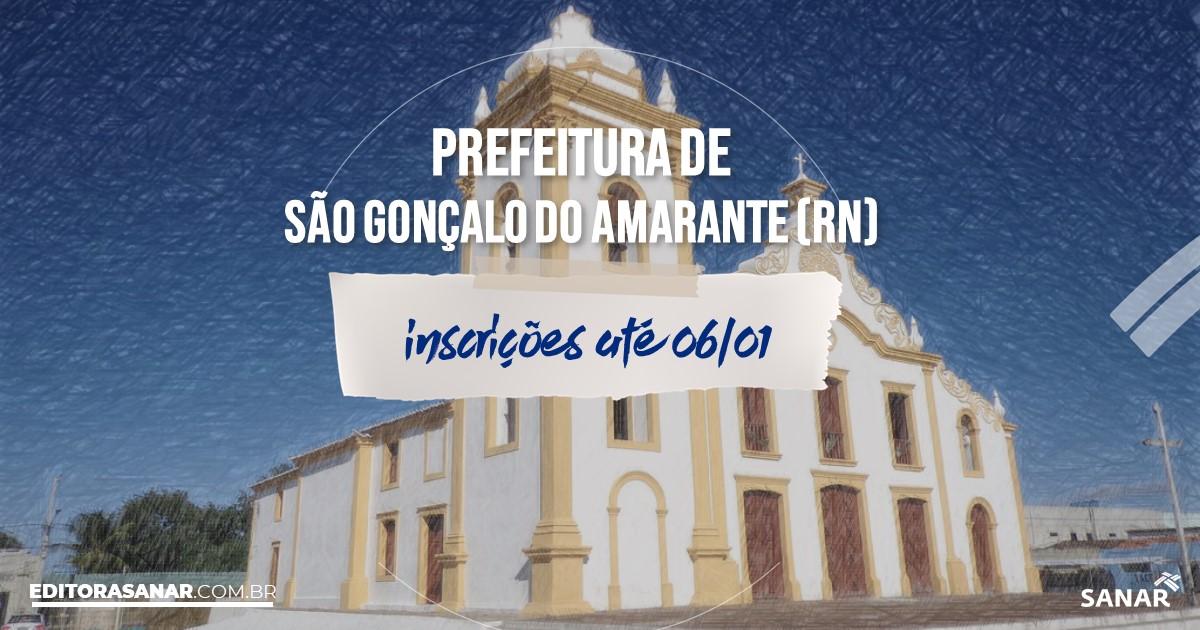 Concurso de São Gonçalo do Amarante - RN: vagas na Saúde!