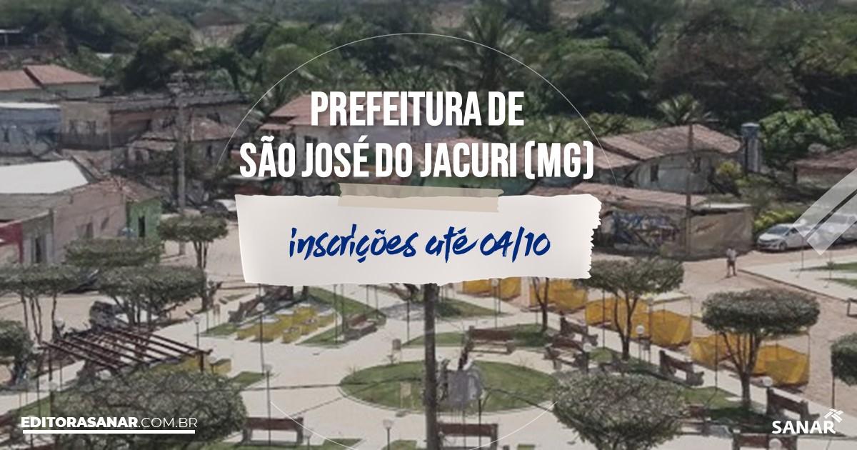 Concurso de São José do Jacuri - MG: salários de até R$9 mil na Saúde!