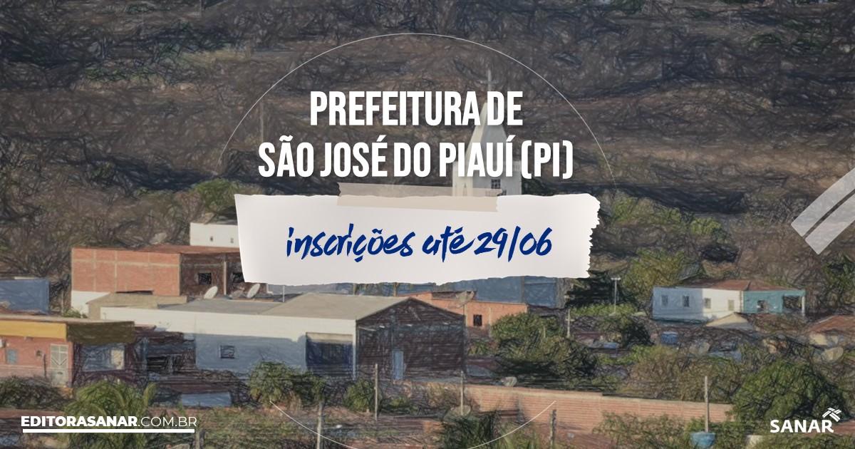 Concurso de São José do Piauí - PI: vagas imediatas na Saúde!