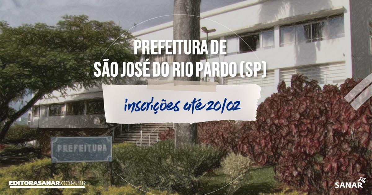 Concurso de São José do Rio Pardo - SP: vagas na Saúde!