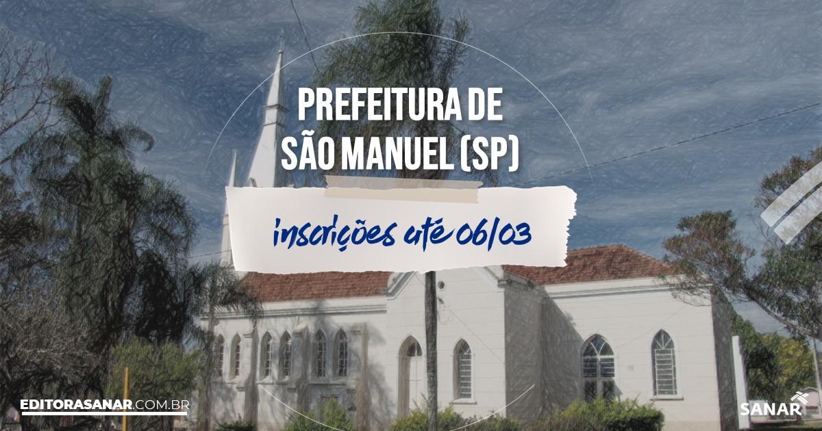 Concurso de São Manuel - SP: vagas imediatas na Saúde!