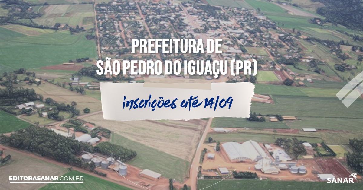 Concurso de São Pedro do Iguaçu - PR: salários de até R$10,9 mil na Saúde!