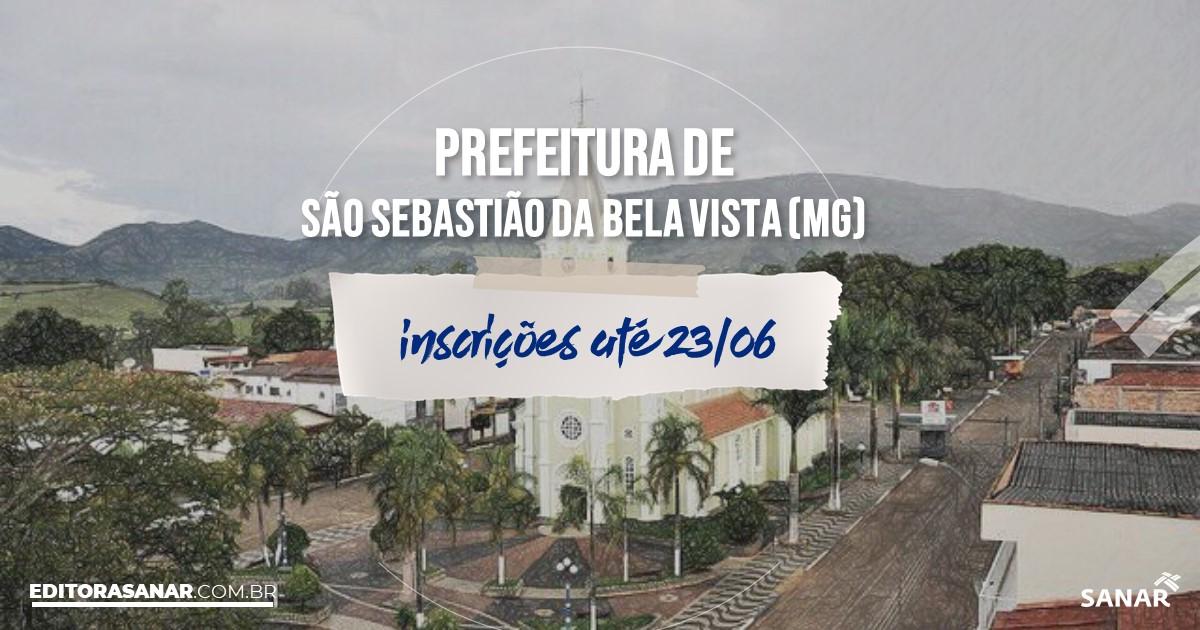 Concurso de São Sebastião da Bela Vista - MG: vagas na Saúde!