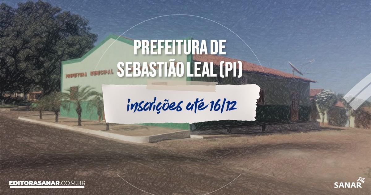 Concurso de Sebastião Leal - PI: cargos na Saúde!