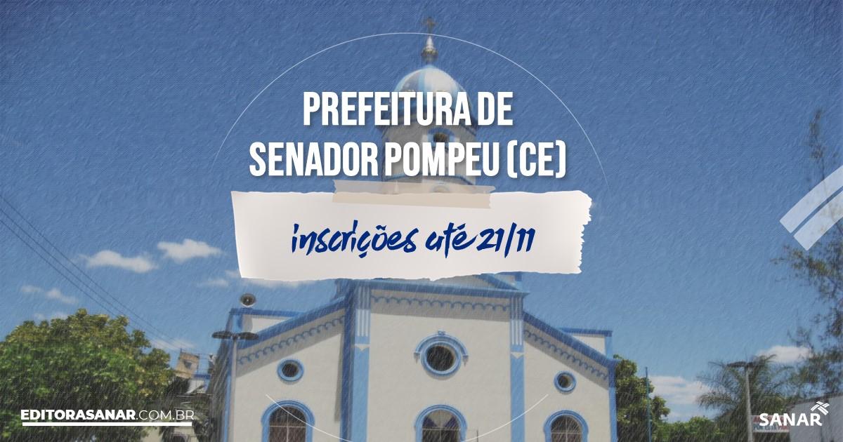 Concurso de Senador Pompeu - CE: vagas na Saúde!