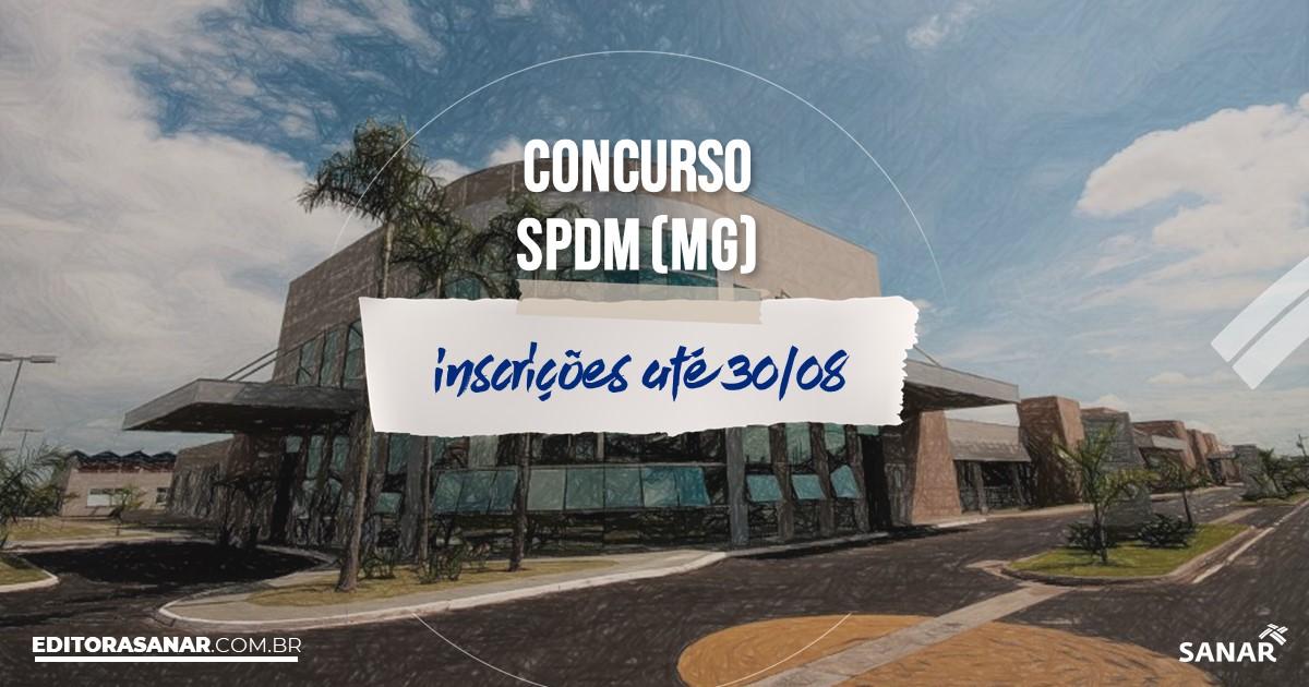 Concurso da SPDM - MG: salários de até R$9,8 mil na Saúde!