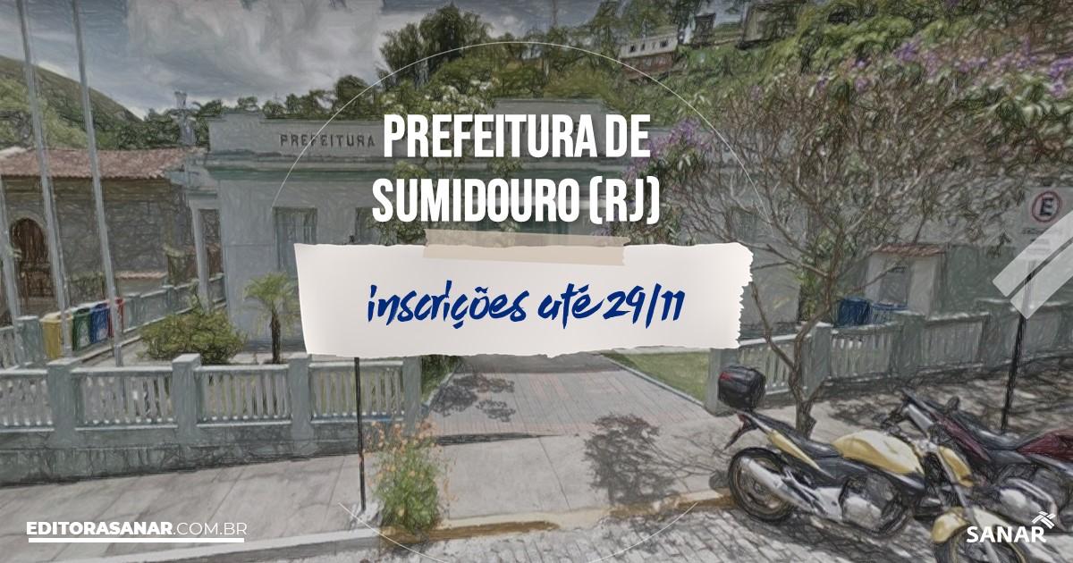 Concurso de Sumidouro - RJ: cargos na Saúde!