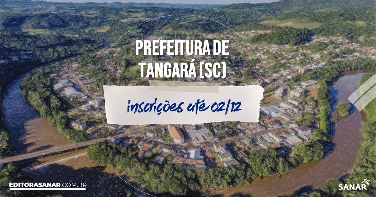 Concurso de Tangará - SC: vagas na Saúde!