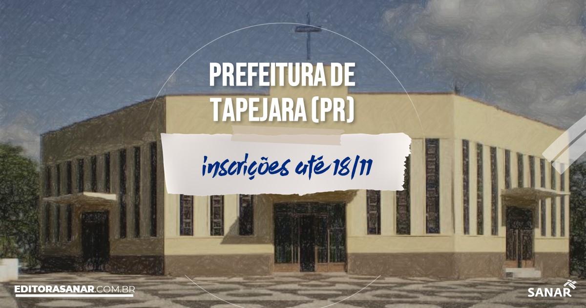 Concurso de Tapejara - PR: cargos na Saúde!