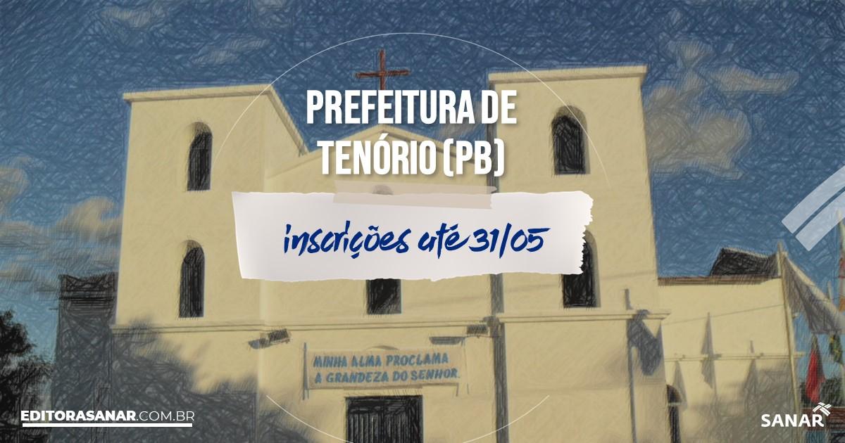Concurso de Tenório - PB: salários de até R$15,5 mil na Saúde!