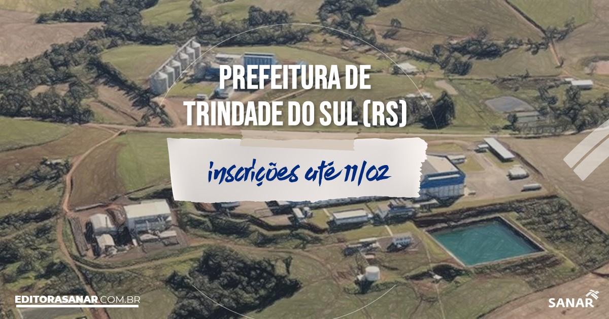 Concurso de Trindade do Sul - RS: salários de até R$12 mil na Saúde!