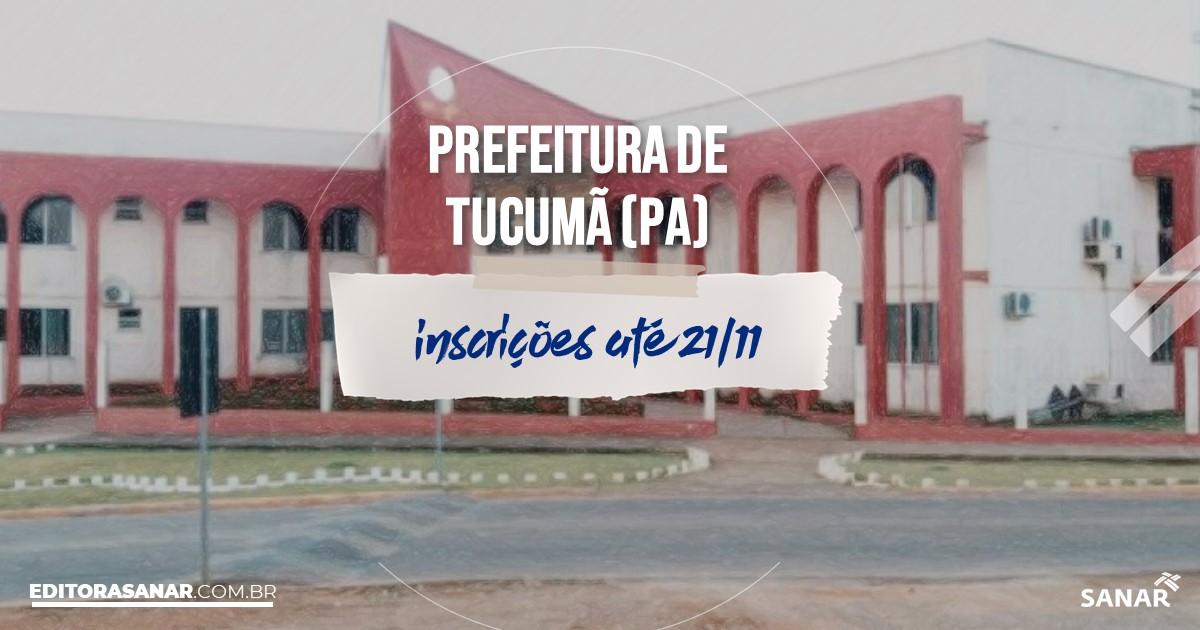 Concurso de Tucumã - PA: vagas na Saúde!