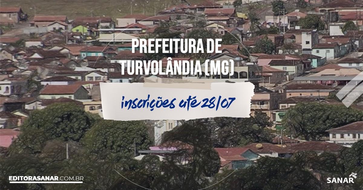 Concurso de Turvolândia - MG: vagas na Saúde!
