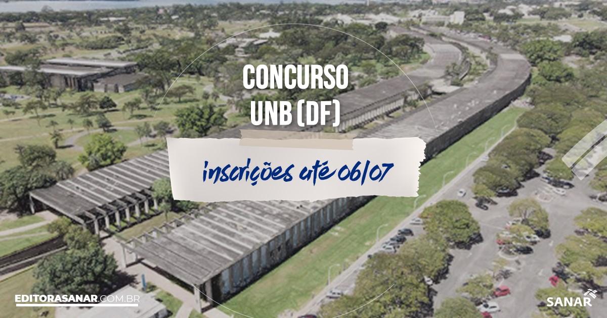 Concurso da UnB - DF: vagas na Saúde!
