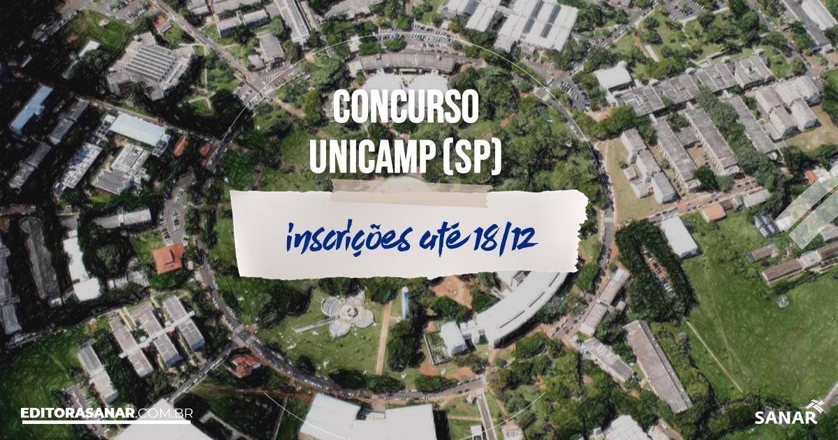 Concurso da UNICAMP - SP: salários de até R$6 mil na Saúde!