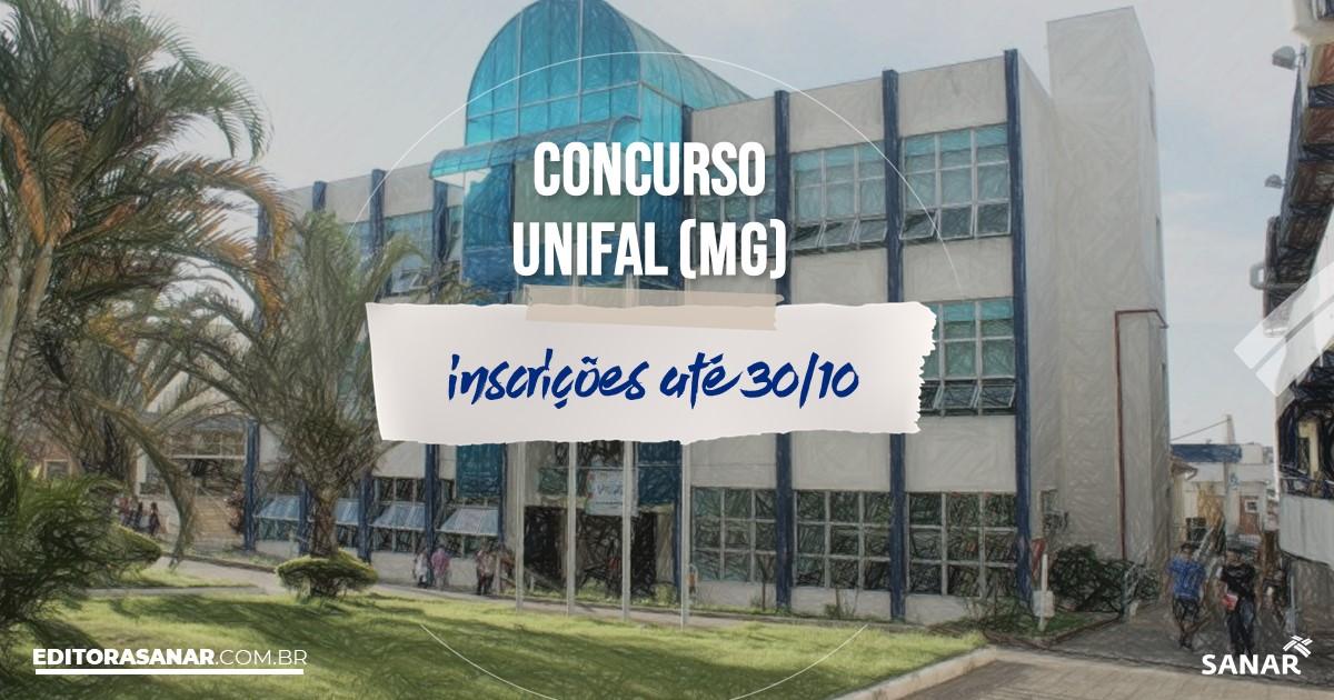 Concurso da Unifal - MG: vaga na Saúde para médico!