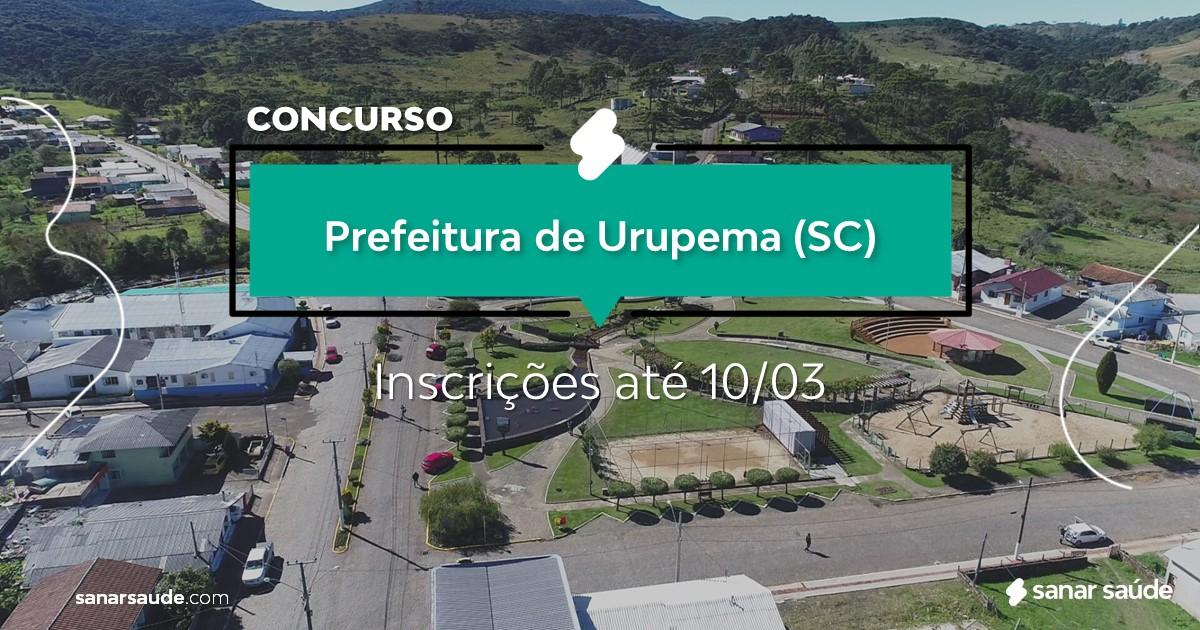 Concurso de Urupema - SC: vagas na Saúde para psicólogos!