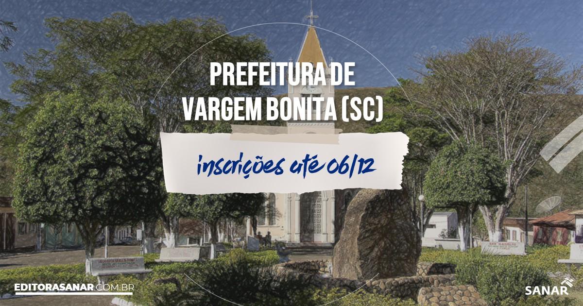 Concurso de Vargem Bonita - SC: remuneração na Saúde até R$15 mil!