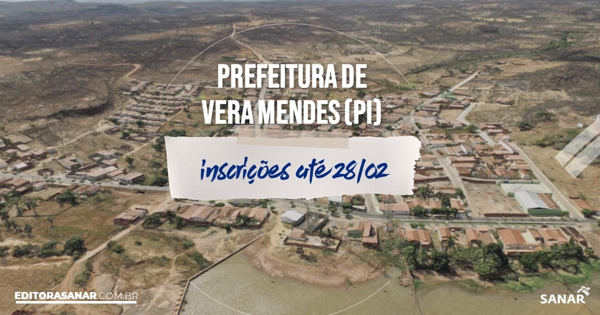 Concurso de Vera Mendes - PI: vagas imediatas na Saúde!
