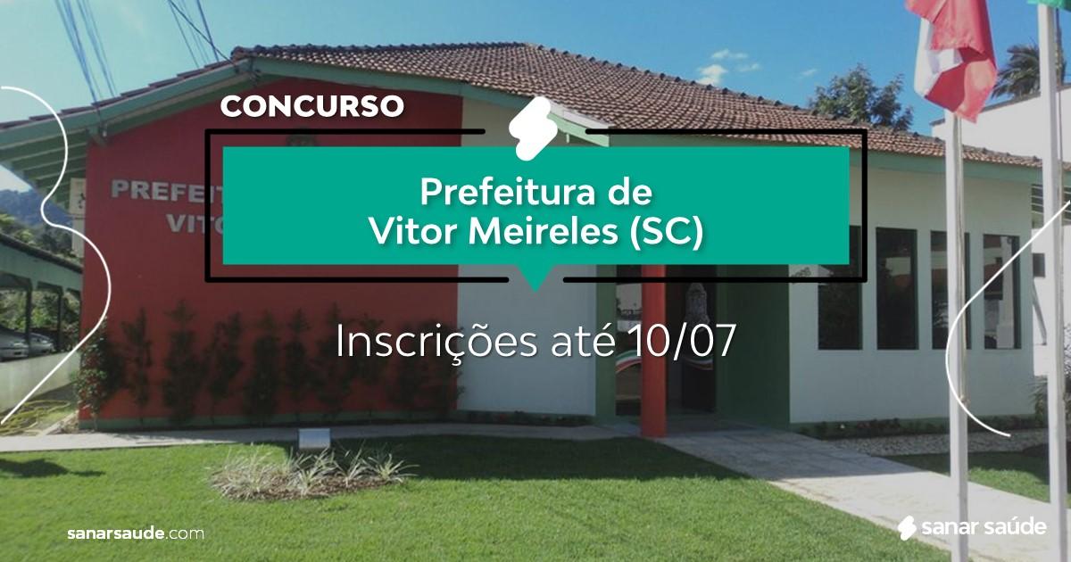 Concurso de Vitor Meireles - SC: salários até R$17 mil na Saúde!