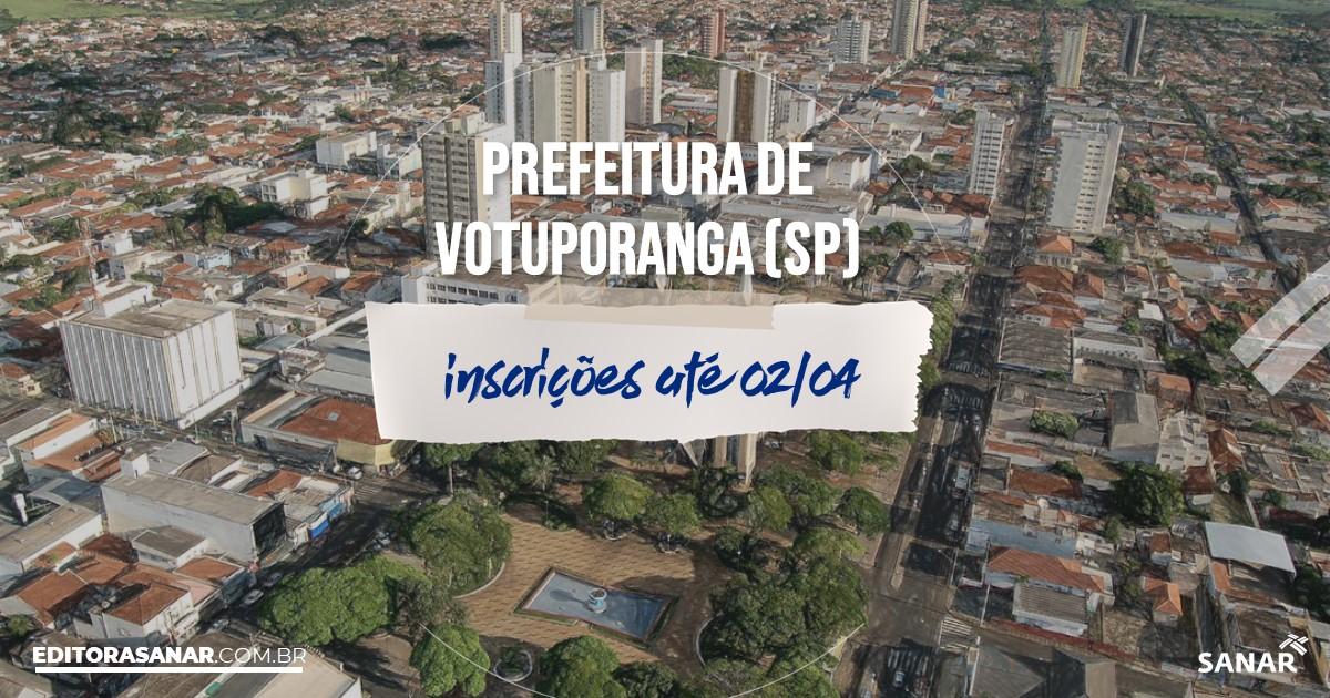 Concurso de Votuporanga - SP: na Saúde, salários de até R$14 mil!