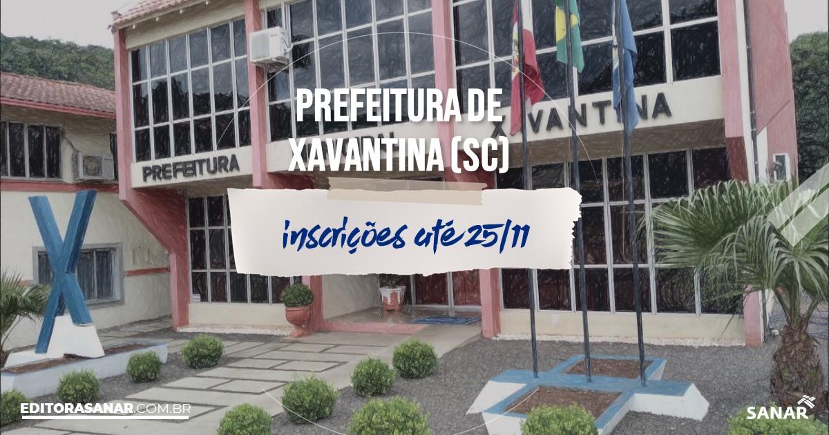 Concurso de Xavantina - SC: vagas na Saúde!