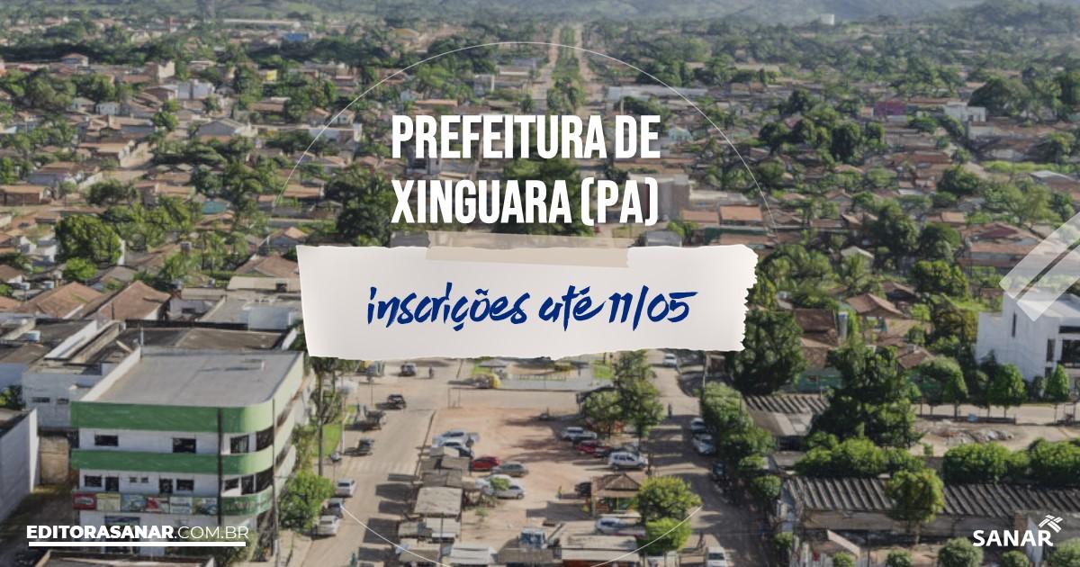 Concurso de Xinguara - PA: vagas imediatas na Saúde!