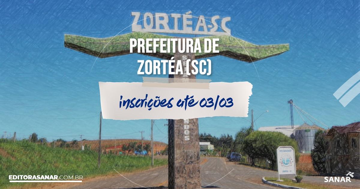 Concurso de Zortéa - SC: cargos na Saúde!