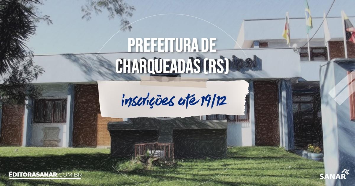 Concurso de Charqueadas - RS: salários de até R$8 mil na Saúde!