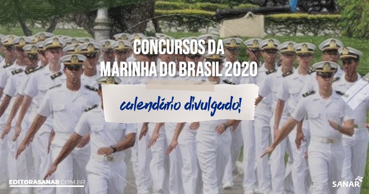 Concursos Marinha 2020: calendário de provas com vagas na Saúde!