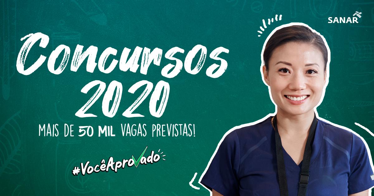 Panorama Concursos 2020: mais de 50 mil vagas previstas com oportunidades para a Saúde!