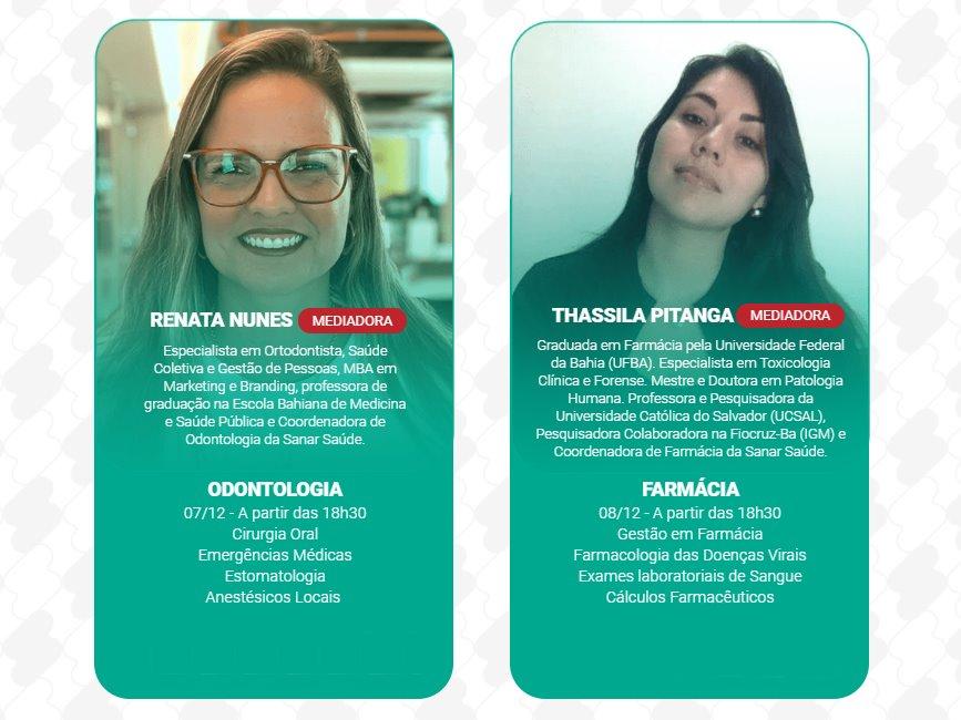 Jornada de Atualização: Mediadoras de Odontologia e Farmácia