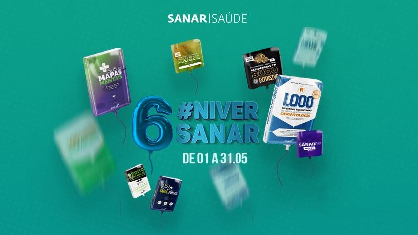 #NiverdaSanar: Nossa comemoração é empoderar você!